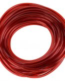 "610TR Transparent Red Vinyl Tubing - 5/16"" ID"