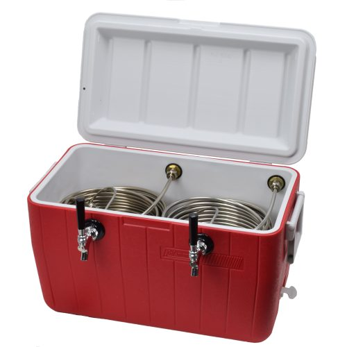 811B-20 Two Product 48qt Cooler with 120' Stainless Steel Coils