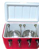 811Q Four Product 48qt Coil Box with Four 50' coils