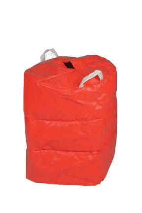 986 Red Insulating Jacket for 1/2 Barrels