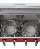 811Q-70SS Four Product 48qt Coil Box with Four 70' Coils - All SS Contact