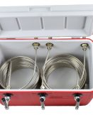 811T-SS Three Product Coil Box with 3 x 50' Coils - All SS Contacts