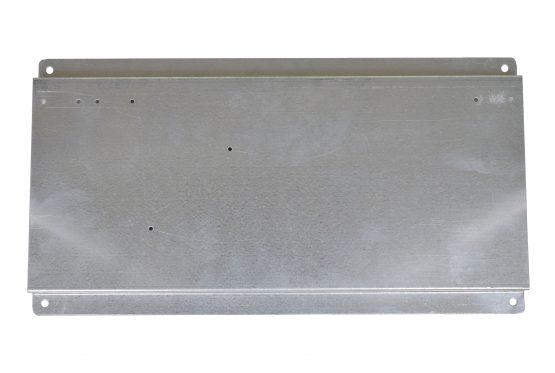 "Galvanized Aluminum Plate - 16"" L x 8 1/2"" W x 1/2"" D"