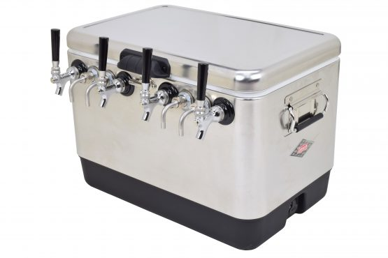 4 product Coil Box - Bartender Style in a Metal 54qt