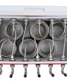 811-506SS Six Product 48qt Coil Box with Six 50' Coils - All 304 SS Contact