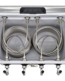 811MQ-50SS Four Product 54qt Stainless Steel Cooler with 50' Coils - All SS Components