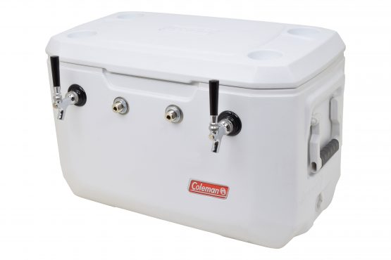 811W-FSS Two Product 70Qt Marine Extreme Cooler - Bartender Style